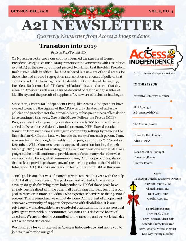 Newsletter vol.2 no.4 image