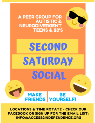 Second Saturday Social General Flyer