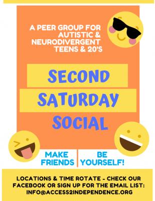 Second Saturday Social General Flyer