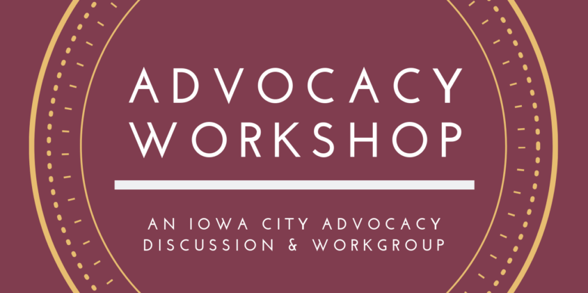 Advocacy workshop logo