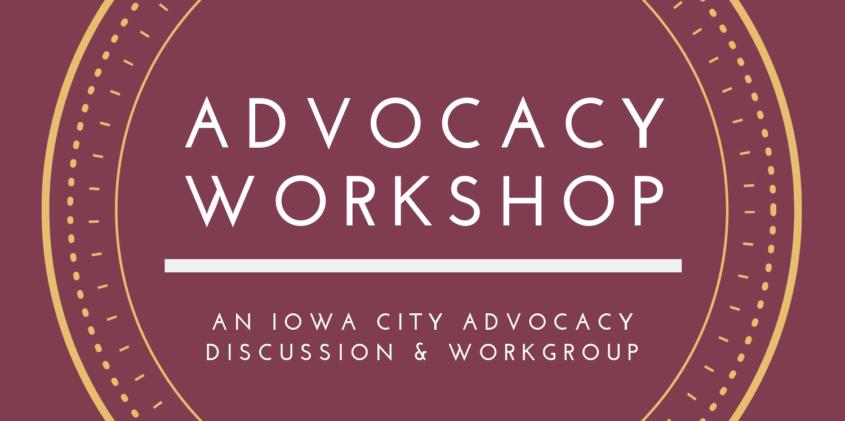 Advocacy workshop logo